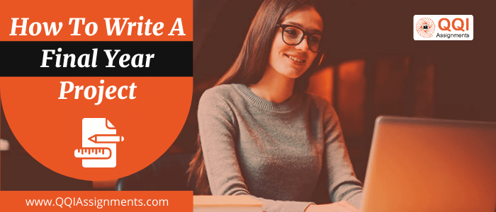 How to Write a Final Year Project